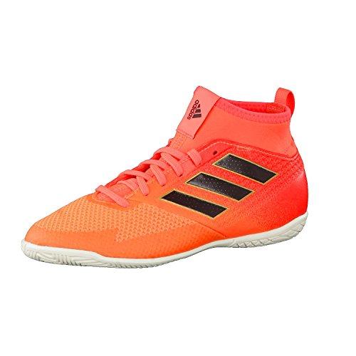 adidas Ace Tango 17.3 In J, Zapatillas de fútbol Sala Unisex niños, Multicolor Solar Red Core Black Solar Orange, 28 EU