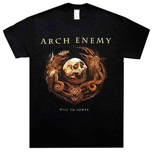 DYR Arch Enemy Will To Power T Shirt T-Shirt Metal Tshirt Black M