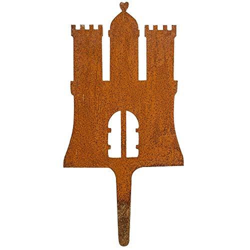 Galionsfigur HamBurg (Variante M)   Designer Gartenstecker Edelrost - Deko, Hamburg Souvenir, Mitbringsel, Gastgeschenk, Wappen, Made in Germany