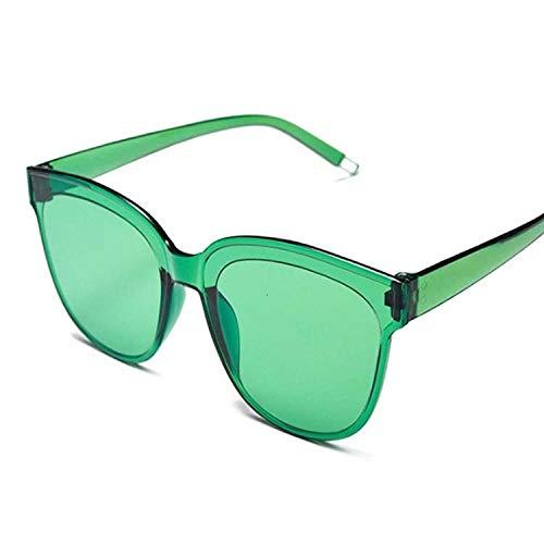 DLSM Gafas de Sol de Las Mujeres de Las Mujeres del plástico de la Vendimia de Las Mujeres de la Vendimia Ojos de la Vendimia UV400 Gafas de Sol de Moda adecuadas para la Pesca, equitación, Playa de