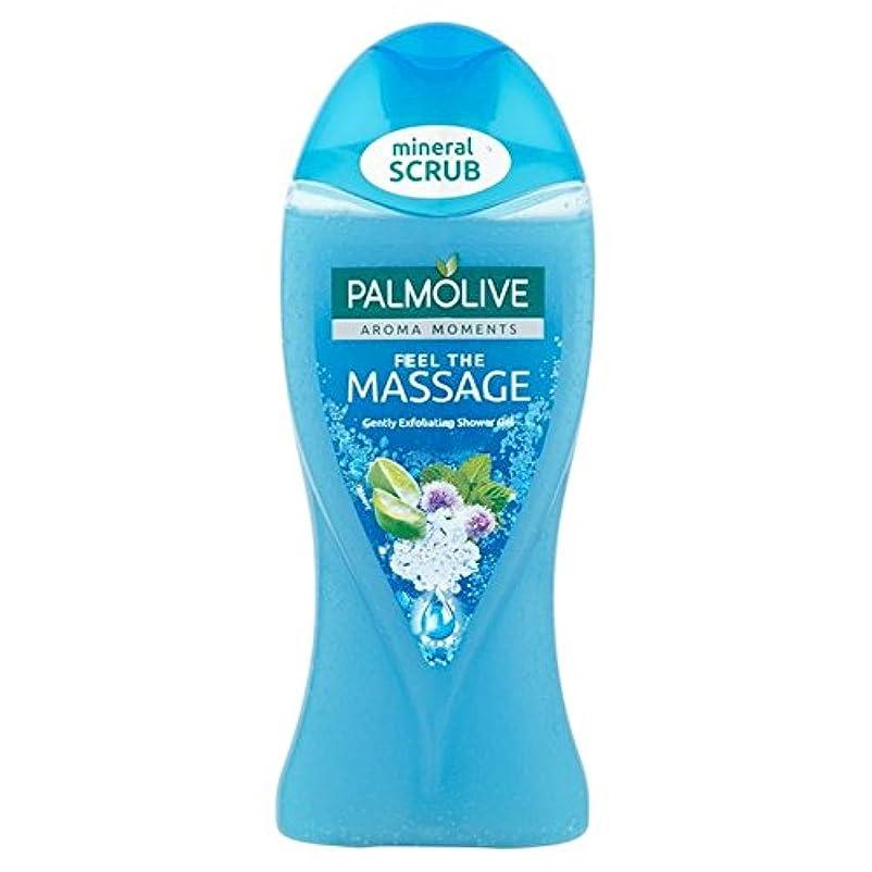 吸う検査悪魔パルモシャワージェルマッサージ250ミリリットル x4 - Palmolive Shower Gel Massage 250ml (Pack of 4) [並行輸入品]
