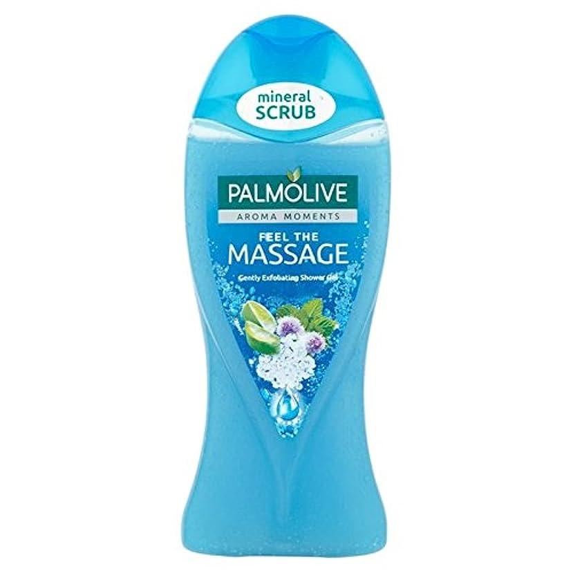 柔らかさ欠伸三十Palmolive Shower Gel Massage 250ml - パルモシャワージェルマッサージ250ミリリットル [並行輸入品]