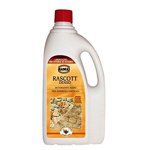 MADRAS Disincrostante Acido Rascott Denso Lt 1 Per Cotto E Facciavista