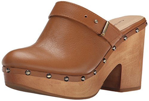 Chinese Laundry Women's Walk On Mule, Cognac Leather, 5.5 M US