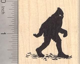 Bigfoot Rubber Stamp, Sasquatch, Yeti, Folklore, Big Foot