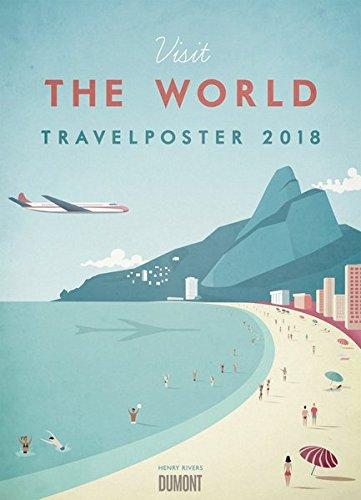 Travelposter 2018 – Reiseplakate-Kalender von DUMONT– Wand-Kalender – Poster-Format 49,5 x 68,5 cm - Partnerlink
