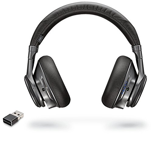 Plantronics BackBeat Pro+ Auricular con micrófono Binaural Diadema Negro - Auriculares con micrófono (PC/Juegos, Binaural, Diadema, Negro, Inalámbrico y alámbrico, 100 m)