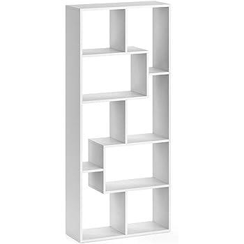 CLARK 9er Regal Büroregal Aktenregal Wohnregal Fresko Raumteiler Bücherregal