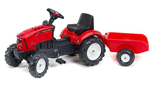 Falk Traktor Trettraktor Lander 2030A mit Anhänger rot