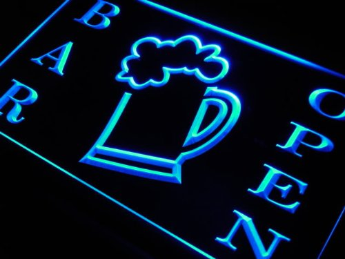 ADV PRO Enseigne Lumineuse m039-b Bar Open Beer Cup Neon Light Sign