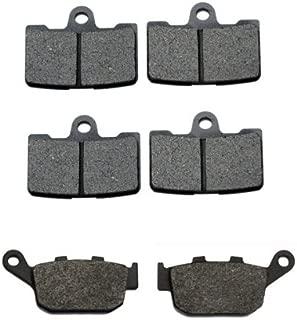 Volar Front & Rear Brake Pads for 2009-2010 Buell Firebolt XB12R