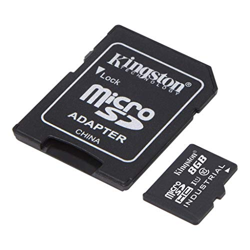 Kingston Industrial Grade 8GB Lenovo Tab P11 Pro MicroSDHC Card Verified by SanFlash. (90MBs Works for Kingston)