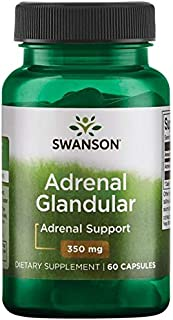 Swanson Adrenal Glandular 350 mg 60 Caps