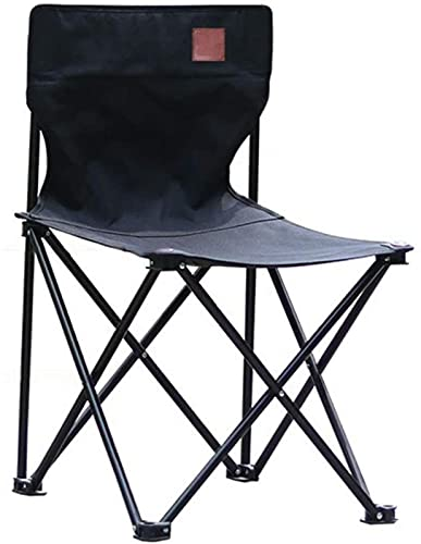 QUERT Silla de Camping Plegable portátil Sillas de Picnic de Playa al Aire Libre Jardín Ocio Asiento Trasero para Pesca Senderismo BBQ Tela de Viaje s