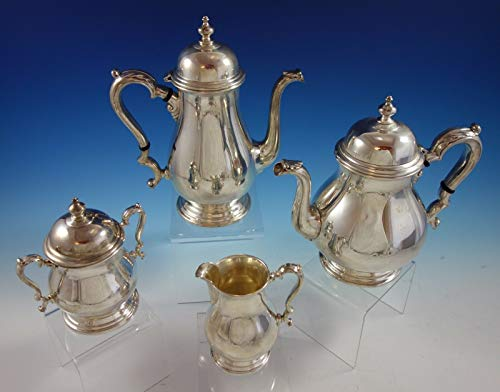 Lowest Prices! Kenilworth by International Sterling Silver Tea Set 4pc (#2612)