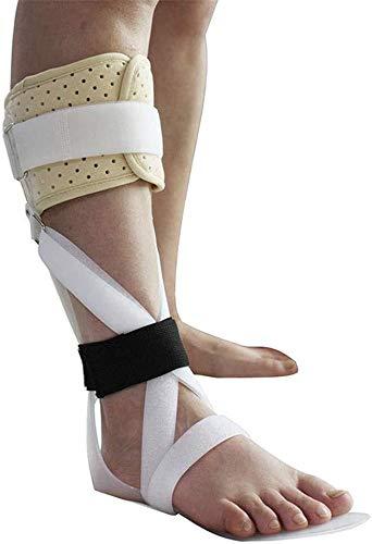 TINWG Knöchel-Fuß-Orthese Support - Splint Hängefuß Brace for die von Fersensporn Achillessehnen Padded Kalb Knöchel Fuß-Orthese, Fallfuß Brace 61 (Color : A(Left), Size : M)