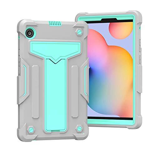 FSCOVER Funda para Huawei MatePad T8 8.0 Pulgadas 2020, Carcasa Cuerpo Completo Shockproof Resistente con Función Atril Integrado para Tableta Huawei MatePad T8 8.0, Menta Verde