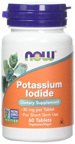Now Foods Potassium Iodide 30 milligrams 60 Tablets