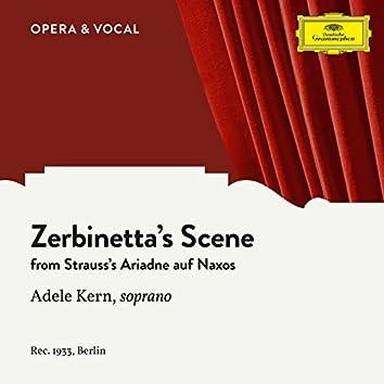 Strauss: Zerbinetta's Scene