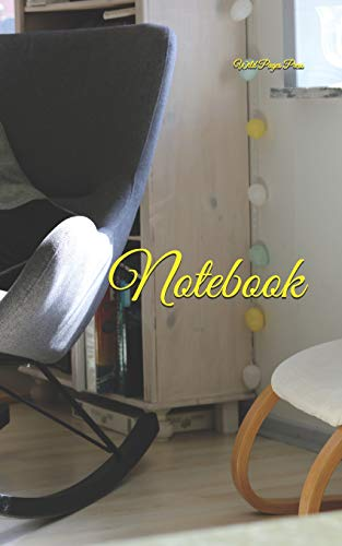 Notebook: Chair home furniture interior design style