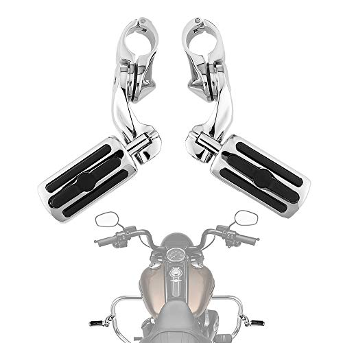 Motorcycle Highway Pegs, Foot Rest for Road Glide Street Glide Electra Glide Road King with 1.25 Engine Guard
