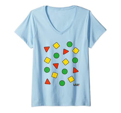 Mujer Pijama Crayon Shin-chan Camiseta Cuello V
