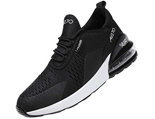 SINOES Damen Turnschuhe Strick Sock Knit Schnür Sneaker Fitness Laufschuhe Leichte Sportschuhe