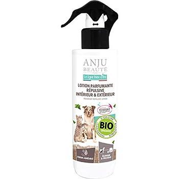 Anju Lotion Parfumant Répulsive Intérieur/Extérieur Bien Etre pour Chien 250 ML