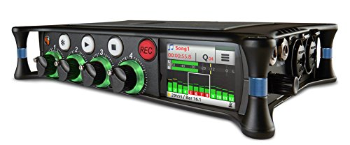 Sound Devices MixPre-6M Portable Multitrack Audio Recorder and USB Audio Interface with Overdub for Musicians