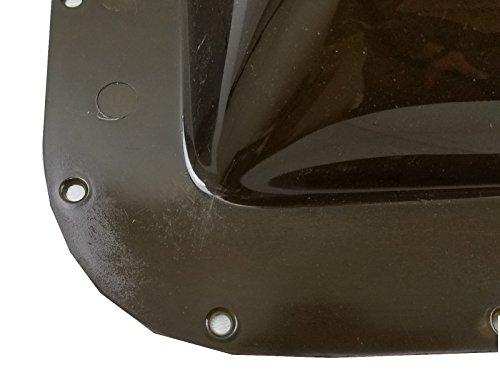 Class A Customs Premium Heavy Duty RV Camper Trailer Exterior Skylight - 18 x 26 OD / 14 x 22 ID Smoke (Tinted)