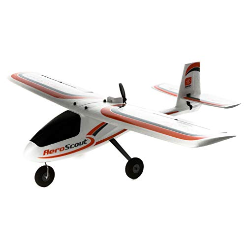 HobbyZone AeroScout S 1.1m RC Airplane RTF (Ready-to-Fly Includes Transmitter, Reciever, Battery and Charger), HBZ3800