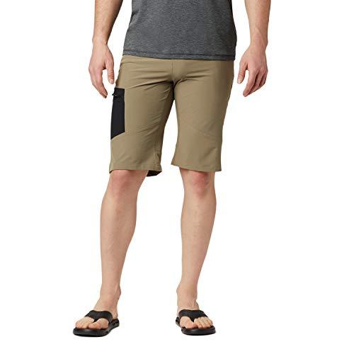 Columbia Triple Canyon, Pantaloncini da Escursionismo Uomo, Sage, Black, W30/L10