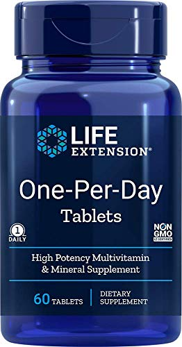 Life Extension One-Per-Day Tablets, 60 tabs 0737870231363