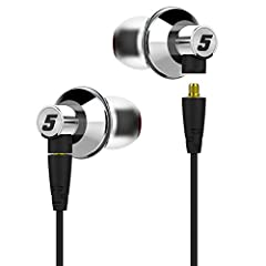 Already awarded the Hi-Res AUDIO certification, Titan 5 utilizes a 13mm diameter singer dynamic transducer with titanium diaphragm for its excellent transient and clarity as well as ability to handle high input power. Bass has good quantity and deep ...