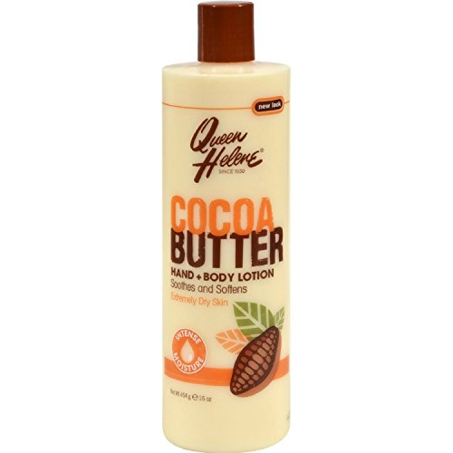 QUEEN HELENE Cocoa Butter Hand & Body Lotion 16 oz (Pack of 3)
