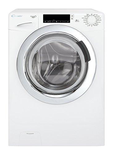 Candy GV 147 TC3 Waschmaschine FL / A+++ / 196 KW / 0-1400 UpM / 7 kg / 9600 L / TouchControl, Bediendisplay mit Startzeitvorwahl und minutengenauer Restlaufzeitanzeige