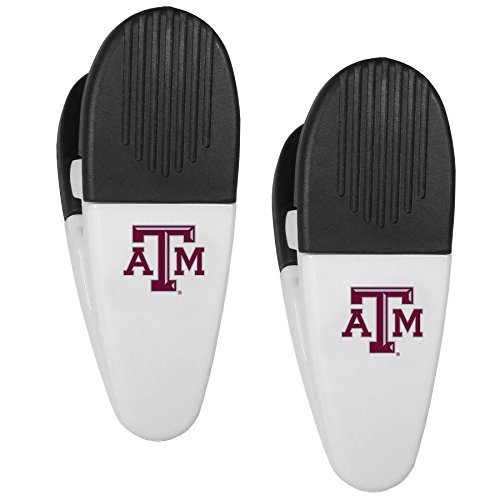 NCAA Texas A&M Aggies Mini Chip Clip Magnets, Set of 2
