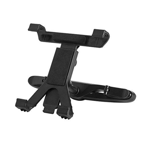 Universelle Tablethalterung für die Kopfstütze im Auto - Entertainment auf der Rücksitzbank / im Fond: Passend für alle gängigen Tablets (iPad, iPad mini, iPad Air, u.v.m) mit einer Breite zwischen 13.4 cm - 20.1 cm