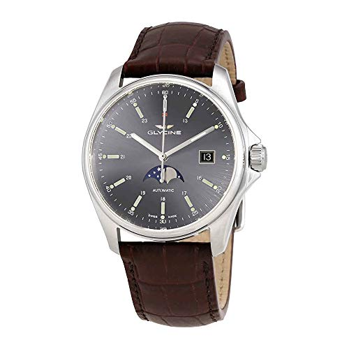 Glycine Combat 6 Classic Automatic antracite quadrante Mens Watch GL0114