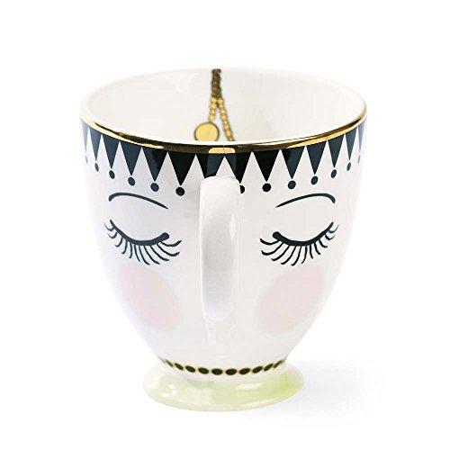 Miss Étoile Kaffeetasse Augen Geschlossen