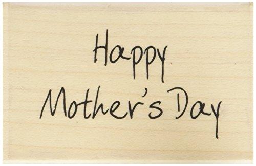 """Art Stamps Stempel zum Vatertag """"Happy Fathers Day"""" Alles Gute zum Muttertag (Happy Mother's Day) Schwarz"""