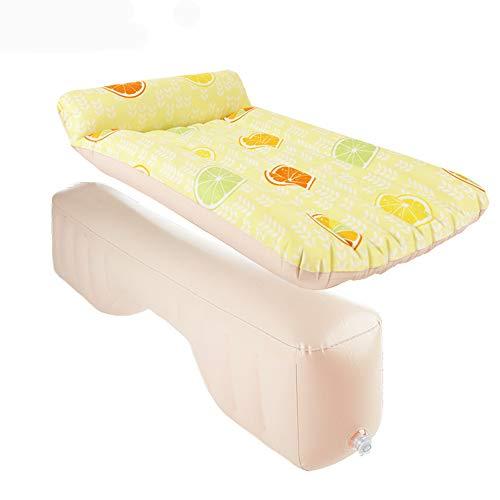 Lit de matelas de voiture gonflable avec pompe à air pour repos de sommeil et mouvement intime avec pompe à air pour le voyage de camping