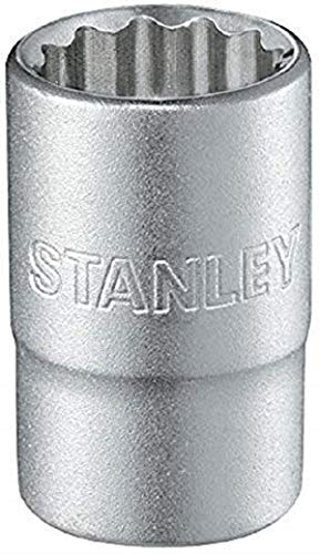 Stanley 1-17-068 Chiave a Bussola Poligonale, Attaco 1/2', Sistema Metrico, 26 mm