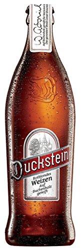 8 Flaschen a 0,5L Duckstein Cuvee rotblondes Weizenbier Premium rot blond 5,7% vol. inc. 0.64€ MEHRWEG Pfand