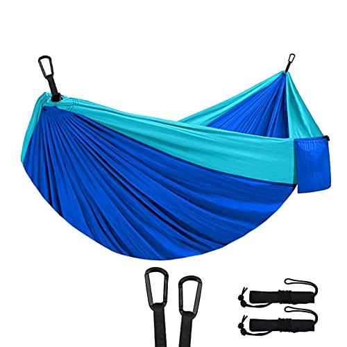 Tianqian Hamaca portátil al aire libre transpirable columpio ligero accesorios de camping adecuados para el hogar senderismo picnic