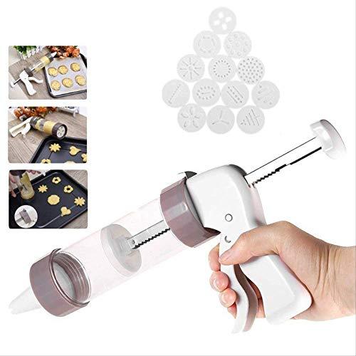 Cookie Press Kit - Cookie Press maken Gun Biscuits Cake Mold Cookie Press Maker Machine Dessert Decoratie