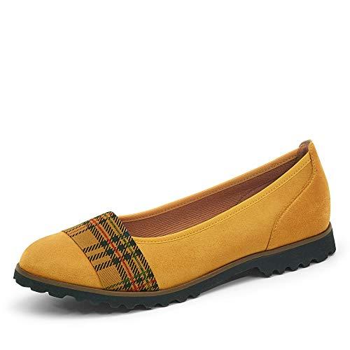 Gabor Shoes 54.106.43, Ballerines Femme, Curry Kombi(Cognac, 40 EU