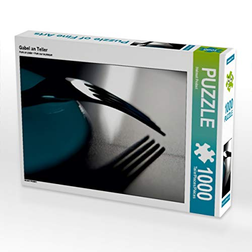 CALVENDO Puzzle Gabel an Teller 1000 Teile Lege-Größe 64 x 48 cm Foto-Puzzle Bild von HP-Grafik
