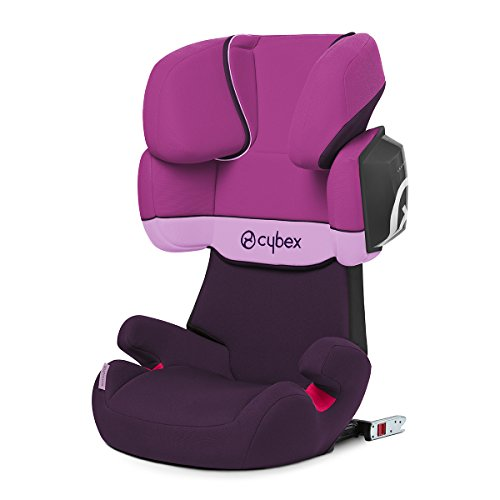 Cybex Silver Solution X2-fix, Autositz Gruppe 2/3 (15-36 kg), Mit Isofix, Purple Rain