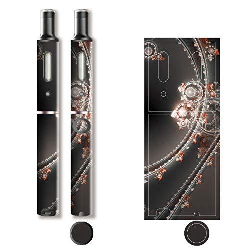 電子たばこ タバコ 煙草 喫煙具 専用スキンシール 対応機種 プルーム テック プラス Ploom TECH+ Ploom Tech Plus ロイヤルジュエリ (2) イメージデザイン 04 Royal Jewely 2 01-pt08-0071
